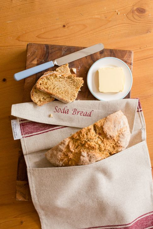 Irish Soda bread storage bag from http:// www.AgnesHDesign.com