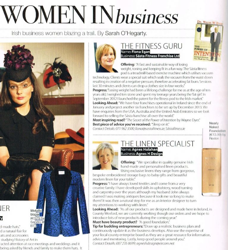 Irish Tatler - Women in Business